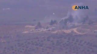 Турецкие войска обстреляли в Сирии базу