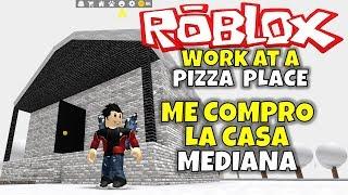 J'achète THE MIDDLE HOUSE! ROBLOX: TRAVAIL À UNE PLACE PIZZA