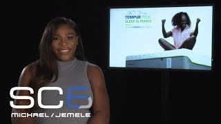 Serena Williams Talks Supporting Venus At Wimbledon | SC6 | July 13, 2017