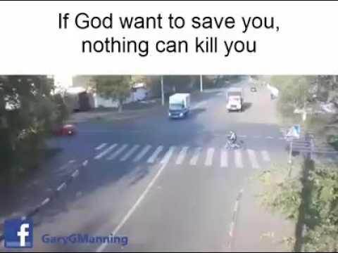 Jesus saves a person life
