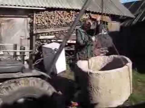 Самодельный кран для трактора