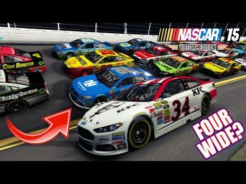 CAN WE GO FOUR WIDE? [NASCAR 15 @ Daytona]