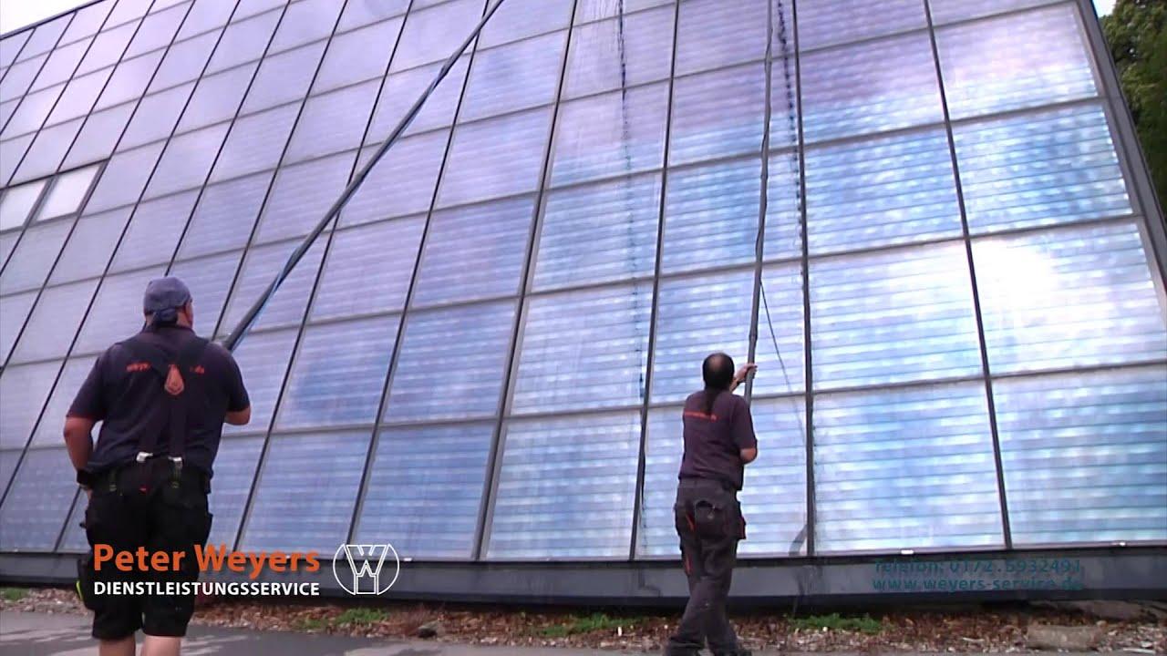 Fensterreinigung osmoseverfahren dienstleistungsservice peter