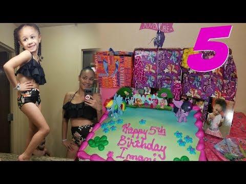 Imani's 5th Birthday!!!