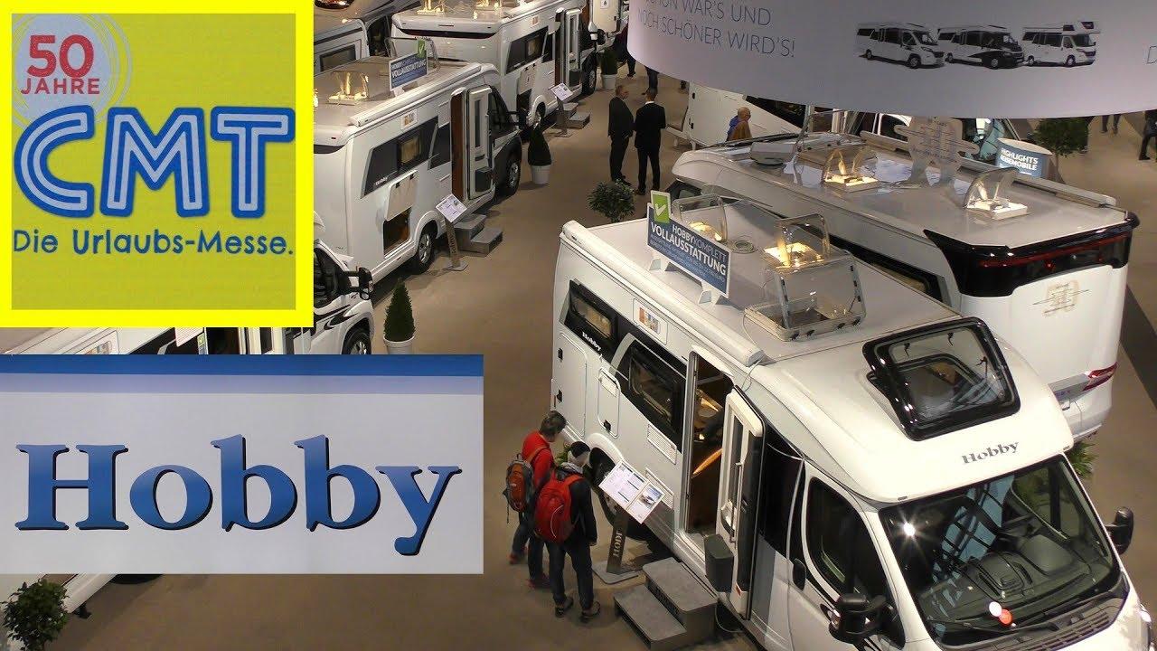 cmt messe stuttgart 2018 hobby caravan reisemobile. Black Bedroom Furniture Sets. Home Design Ideas