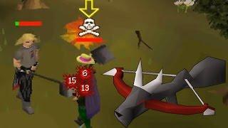 Dragon Hunter Crossbow Low Level Pking!