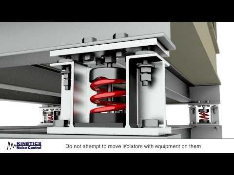 Installation: FLSS Seismic Control Restrained Spring Isolator