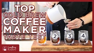Top Cold Brew Coffee Maker Taste Test - KitchenAid, Cuisinart, Oxo, & Toddy Cold Brew
