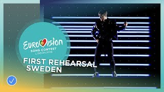 Benjamin Ingrosso - Dance You Off - First Rehearsal - Sweden - Eurovision 2018
