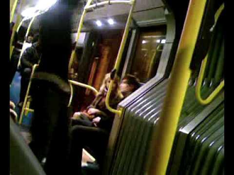 TFL transport for london night bus teen using drugs fall