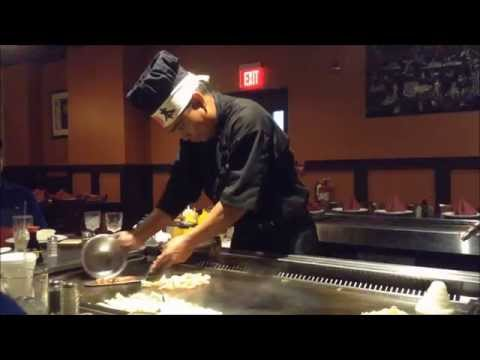 BEST Hibachi Ninja Master Chef Comic Performance