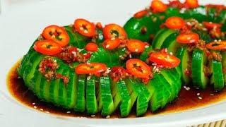 Огурцы по-китайски. Рецепт от Всегда Вкусно!