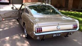 Johnny's 1966 Mustang Fastback 2+2