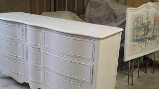 Refinishing Drexel Dressers And Mirrors At Timeless Arts Refinishing