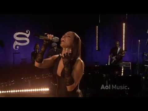 Alicia Keys  Try Sleeping With A Broken Heart  @ AOL Sessions