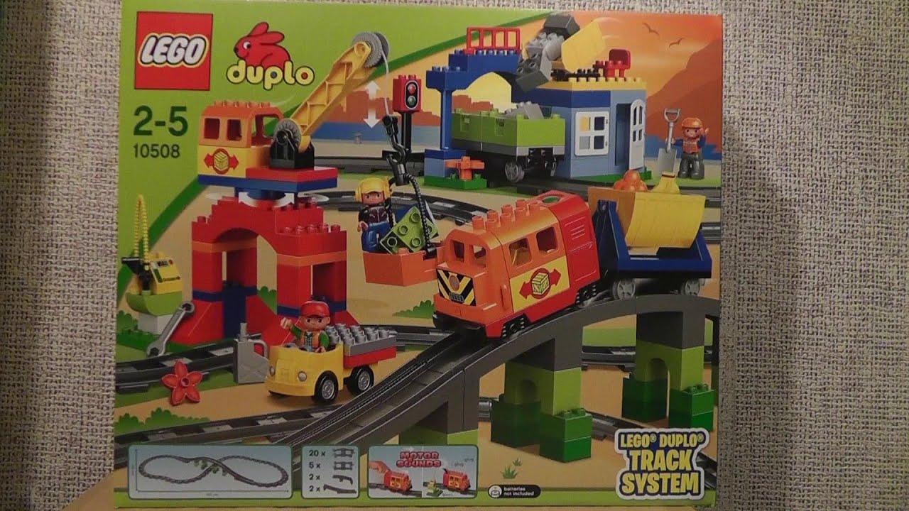Lego Duplo 10508 Pociąg Duplo Zestaw Deluxe Youtube