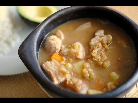 LENTEJAS COLOMBIANAS | Cómo Hacer Sopa De Lentejas | SyS