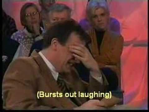 Boemerang presentator can't stop laughing. Subtitled version