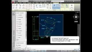 autocad 2011 building a 3d dynamic block using constraints parameters and surfaces part1 3