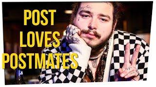 Postmates Declares Post Malone Their #1 Customer ft. Steve Greene & DavidSoComedy