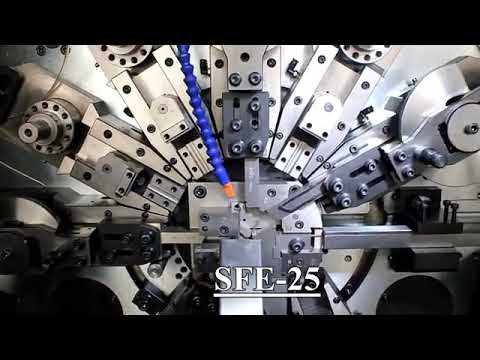 SFE-25 Wire And Strip Stamping & Forming Machine