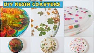 DIY Resin Coasters   Monsoon Special Resin Coasters