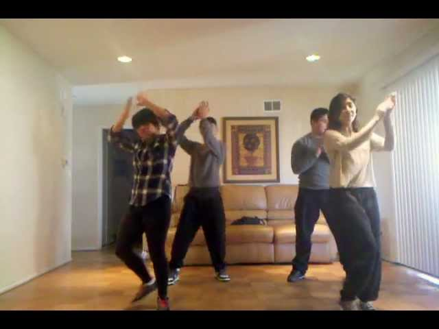 Micah Mora Enigmatic Theory Dance Crew Dec 2011 Rehearsal for Bang Bang I Shot You Down Performance Travel Video