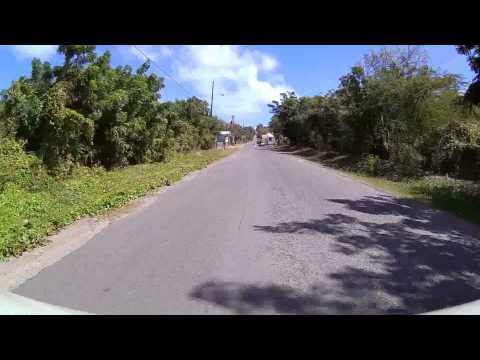 Driving in Antigua - Airport to Long Bay