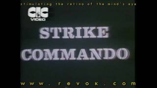 STRIKE COMMANDO (1987) Japanese trailer for Bruno Mattei's hilarious RAMBO rip-off with Reb Brown