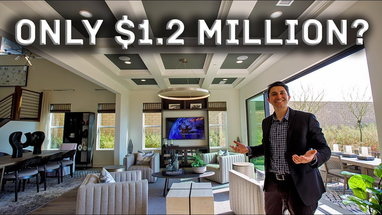 BRAND NEW $1.2 Million Los Angeles Luxury Home Tour in 2021!