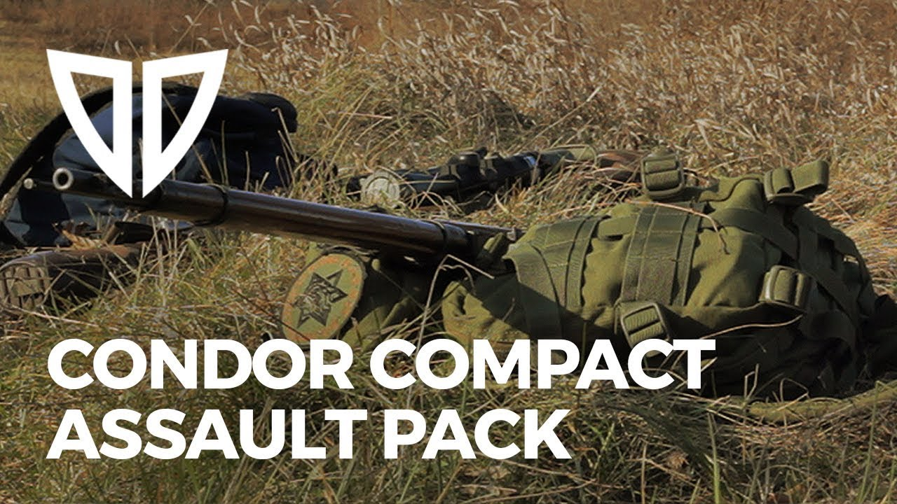 33b63846b1 Condor Compact Assault Pack Backpack - It s Mean in Green - YouTube
