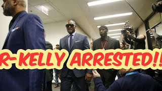 #Rkelly #Rkellyvevo #music R-Kelly got Arrested Today!!