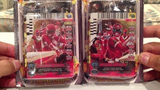 Forever Red Power Rangers ACG Packs Unboxing/Review