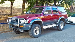 1992 Toyota Hilux Surf Diesel (USA Import) Japan Auction Purchase Review