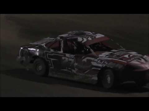 Salina Speedway Coors Light IMCA Stock cars *Heat & Feature* 6-16-17