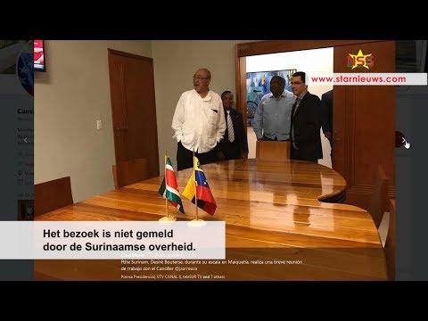 President maakte tussenstop in Venezuela