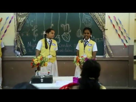 RADIO SHOW ON MYSTERY BY VISAKHA VALLEY SCHOOL  BY IX 'C'  2015-16