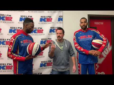 Chris Carr & Company - WATCH: Chris Carr Does Tricks with the Harlem Globetrotters