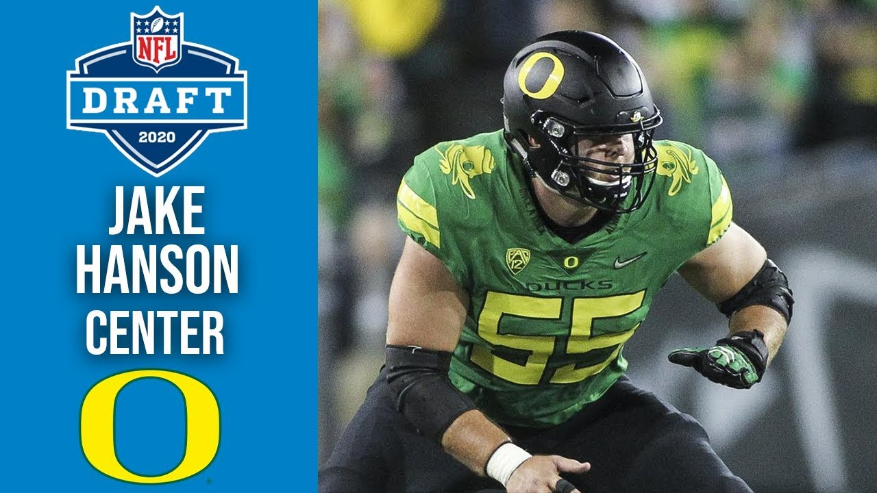 Jake Hanson | #55 Center | Oregon | 2020 NFL Draft Profile