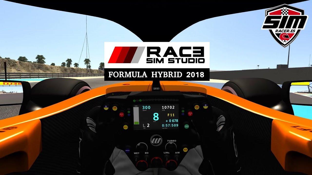 Race Sim Studio Formula Hybrid 2018 RSS Assetto Corsa Mod