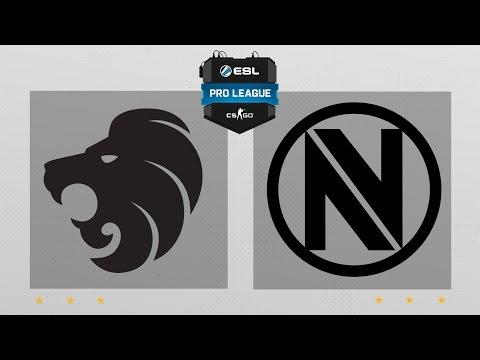ESL Pro League S5 EU - North vs Envyus @nuke