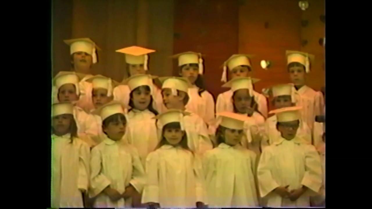 MES Kindergarten Graduation  6-17-87
