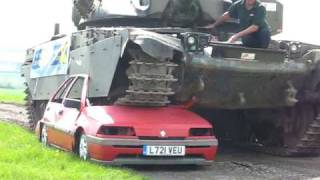 ACF Teambuilding & Events - Marie Curie Cancer Care 2009 Cheftain Tank Car Crush
