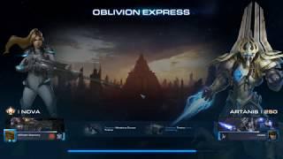 StarCraft 2 Co-Op Oblivion Express Nova lvl 1000