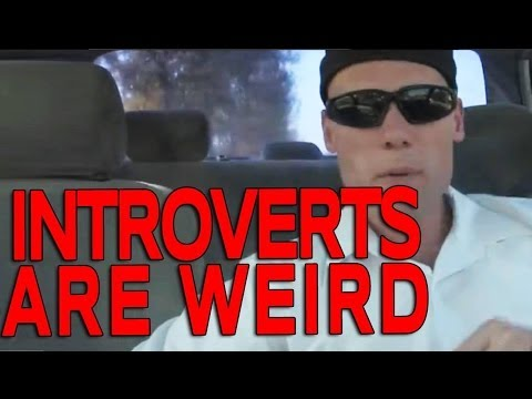 What is an introvert and what makes them so F'ing Weird?!?!
