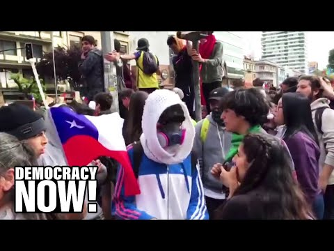 """Protests in Chile Were Sparked By a Subway Fare Hike, But Come After """"30 Years of a Social Crisis"""""""