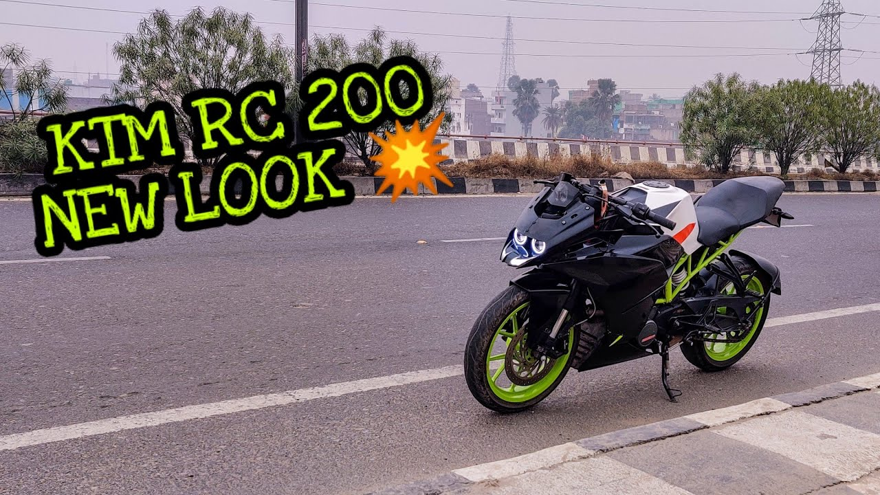 Accidental RC200 is Back   New Look of KTM RC200   VAMP is getting in new look