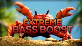 [EXTREME BASS BOOST] Noisestorm - Crab Rave (Monstercat Release)