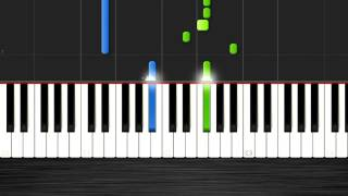 Drake - Energy - 50% Speed Piano Tutorial - Synthesia - If You're Reading This It's Too Late