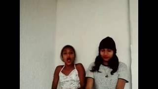 lay e lav cantam r 50 reais e vestido e batom vermelho